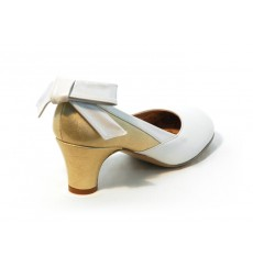 A_21 Lazo de piel, adorno para zapatos