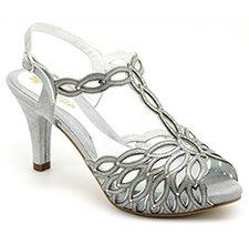 Zapato de fiesta ancho especial Encarni