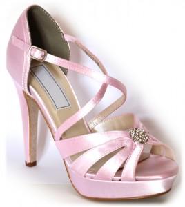 Zapatos de novia y fiesta enepe: modelo Darling capri pink