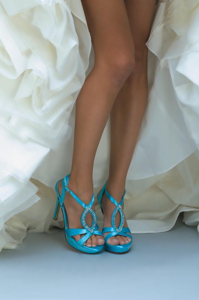 Sandalias de novia Enepe