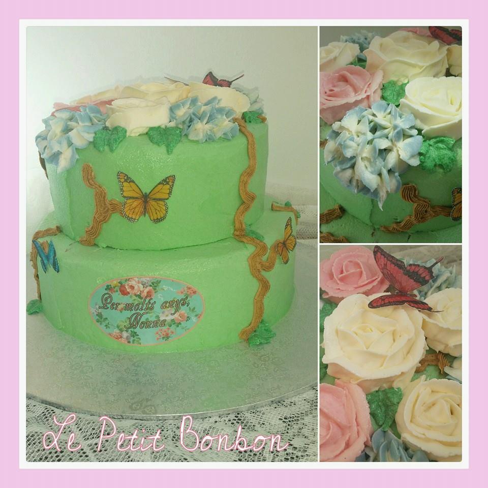Novios pastel de boda Enepe