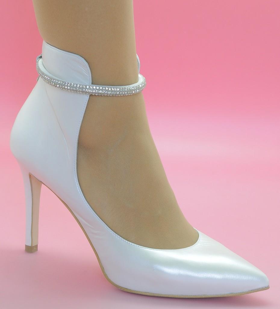 Zapatos de salón de novia