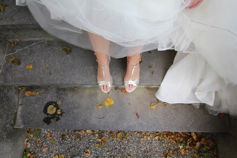 Tradiciones de boda - zapatos de novia