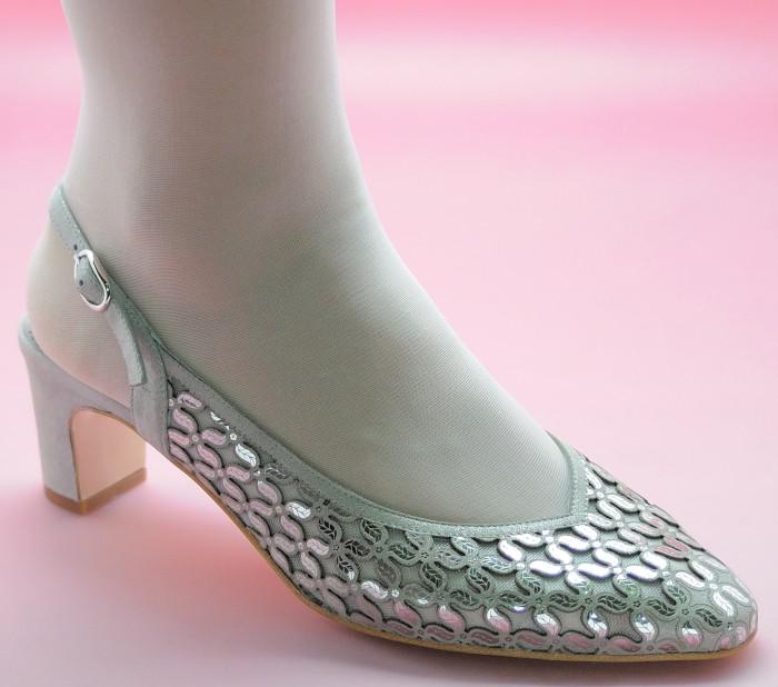 zapatos de fiesta ancho especial